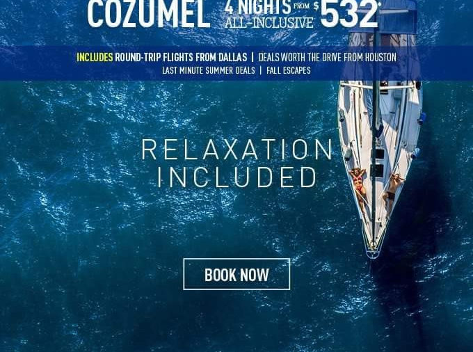 Cozumel for 4 nights All Inclusive starting at $532