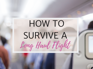 Tips on How to Survive A Long Haul Flight